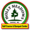 Holly Meadows Golf Course Logo