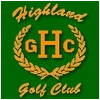 Highland Golf Club Logo