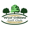 White/Blue at West Ottawa Golf Club Logo