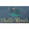 White/Gold at Bello Woods Golf Course Logo