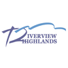 Red/Blue at Riverview Highlands Golf Course Logo