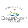Pebble Creek Country Club - Championship Course Logo