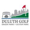 Front & Back at Lester Park Golf Course Logo