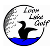 Loon Lake Public Golf Course Logo