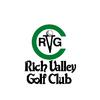 Red/Blue at Rich Valley Golf Club Logo