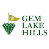 Gem Lake Hills Golf Course - Executive Logo