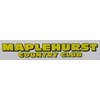 Maplehurst Country Club Logo