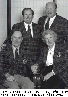P.B. Dye Family Photo