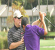 Gary Gilchrist at with student IJGA