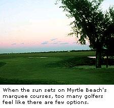 Myrtle Beach Sun Set