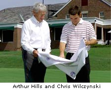 Arthur Hills and Chris Wilcznski