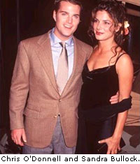 Chris O'Donnell and Sandra Bullock
