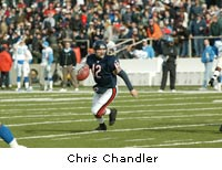 Bears QB Chris Chandler