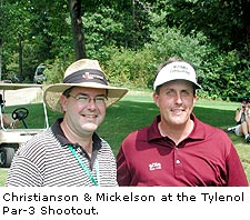 Christianson and Mickelson