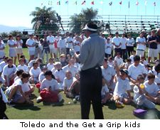 Toledo and the Get a Grip kids