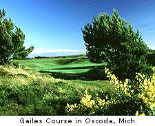 Gailes Course in Oscoda, Mich
