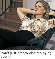 Dream about playing Golf