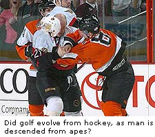From Hockey to Golf