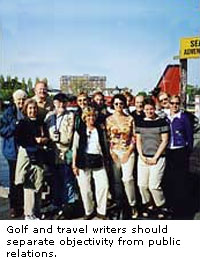Golf and Travel Writers