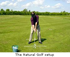 The Natural Golf setup