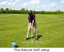 The Natural Golf setup