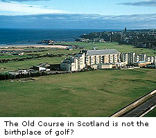 The Old Course in Scotland