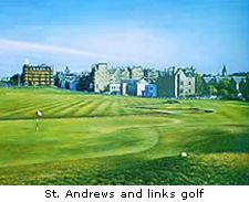 St. Andrews and links golf