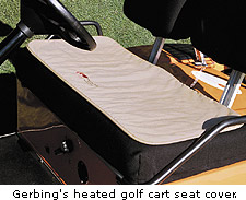 Gerbing's heated golf cart seat cover