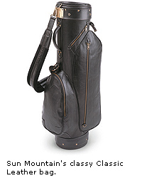 Sun Mountain's Classic Leather Bag