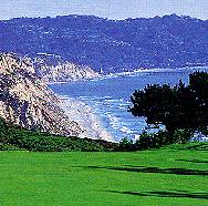 Torrey Pines Golf Club in La Jolla