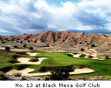 No. 13 Black Mesa Golf Club