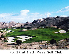 No. 14 Black Mesa Golf Club
