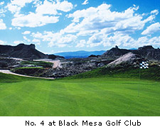 No. 16 Black Mesa Golf Club