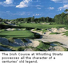 The Irish Course at Whistling Straits