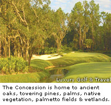 Concession Golf Club in Sarasota Fla.