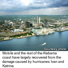Mobile - Hurricane Damage