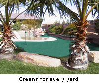 SofTrak Putting Green