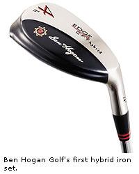 "Ben Hogan Golf: Edge CFT Hybrid ""h"" iron set"
