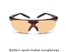 Bolle's sport metal sunglasses