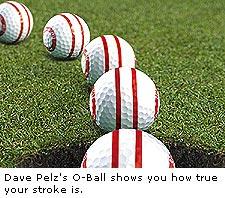 Pelz Golf O-Balls
