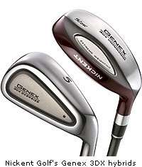 Nickent Golf Genex 3DX Hybrid