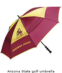 Arizona State Sun Devils golf umbrella