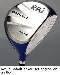 KZ Golf Cobalt driver