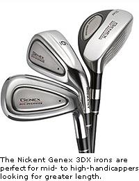 Nickent Genex 3DX Irons