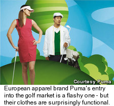 Puma's Packable Wind Jacket and Golf Dress