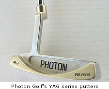 Photon Golf YAG putters