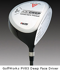 PV83 Deep Face Driver