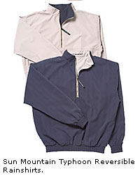 Sun Mountain Typhoon Reversible Rainshirts