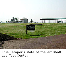 True Temper's state-of-the-art Shaft Lab Test Center