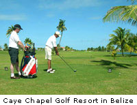 Caye Chapel Resort in Belize